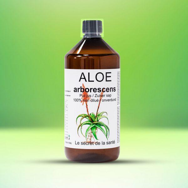 Aloe arborescens - pur jus