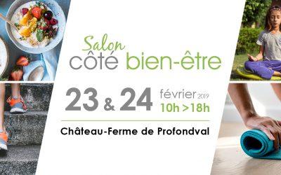 23 & 24/02/2019 : Salon côté bien-être au Château-ferme de Profondval