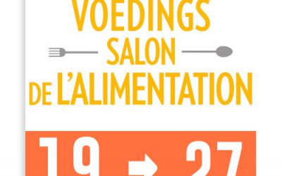19 – 27/10/2019 : Salon de l'Alimentation – Heysel