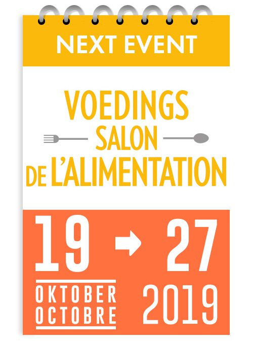 19 – 27/10/2019 : Salon de l'Alimentation – Heysel
