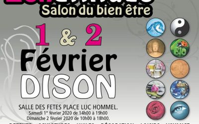 1 & 2/02/2020 : Salon Zen Attitude à Dison (Verviers)