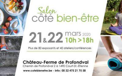 21 & 22/03/2020 – Salon Côté Bien-Être à Profondval