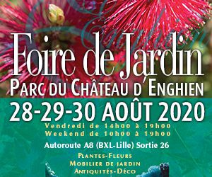 28-29 & 30/08/2020 – Foire de Jardins – Enghien